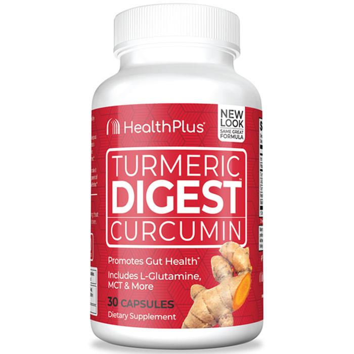 Turmeric Digest, 30 Capsules, Health Plus Inc.