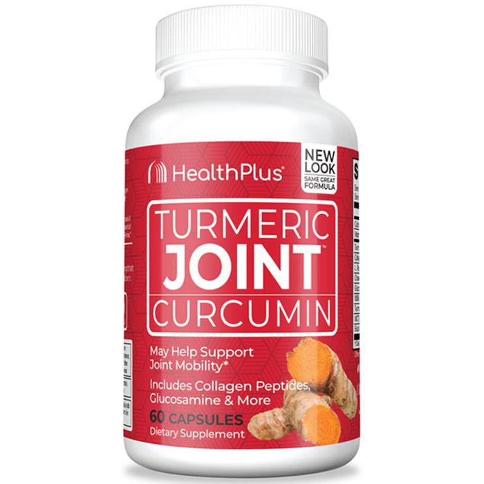 Turmeric Joint, 60 Capsules, Health Plus Inc.