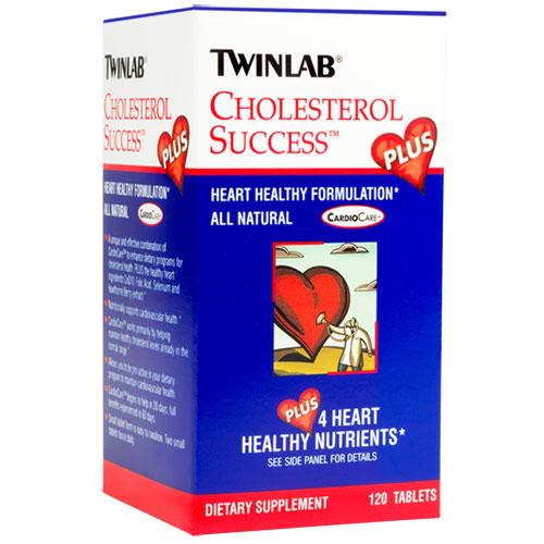 TwinLab Cholesterol Success Plus, 120 tablets