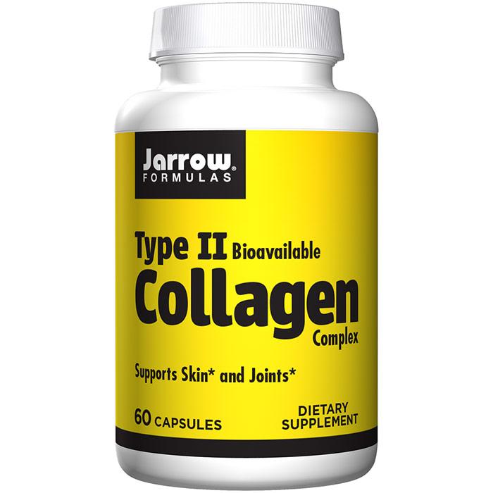 Type II Collagen, BioCell Collagen II 500 mg, 60 Capsules, Jarrow Formulas