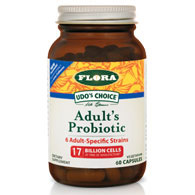 Udos Choice Adults Probiotic, 60 Capsules, Flora Health