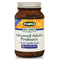 Udos Choice Advanced Adults Probiotic, 30 Capsules, Flora Health