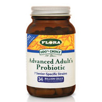 Udos Choice Advanced Adults Probiotic, 60 Caosules, Flora Health