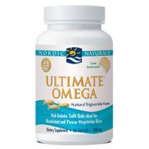 Ultimate Omega, Lemon, Fish Oil Ideal for Restricted & Pasco-Vegetarian, 60 Fish Gels, Nordic Naturals