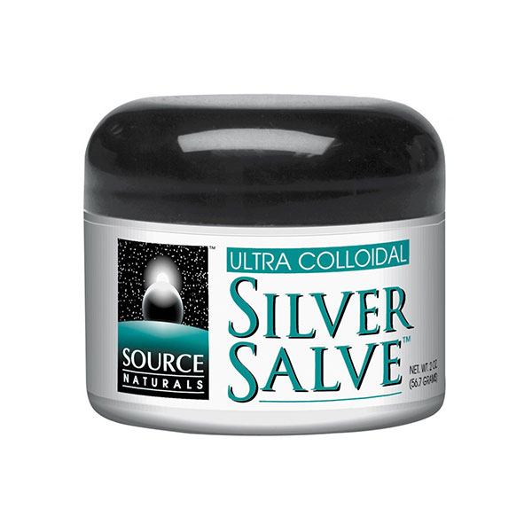Ultra Colloidal Silver Salve 10ppm 2 oz from Source Naturals