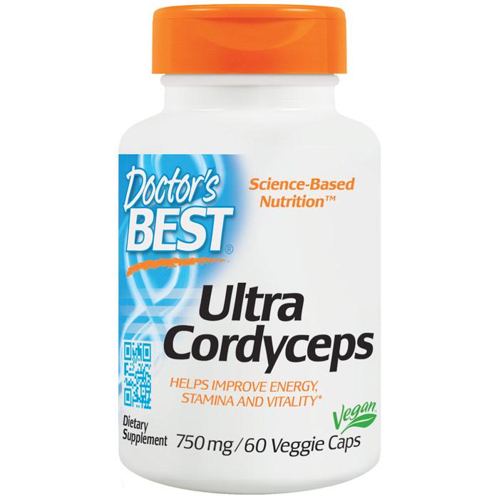 Ultra Cordyceps (Cordyceps Sinensis), 60 Veggie Caps, Doctors Best