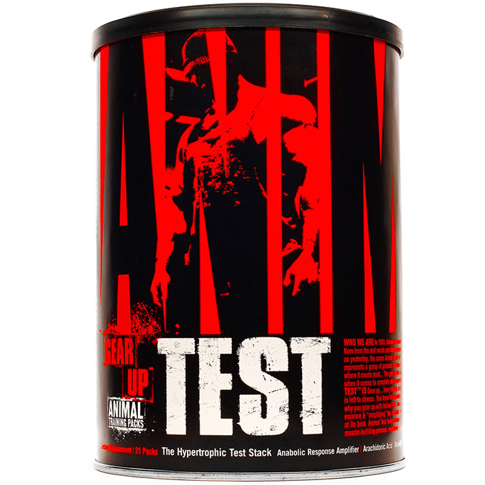 Universal Nutrition Animal Test, 21 Packs