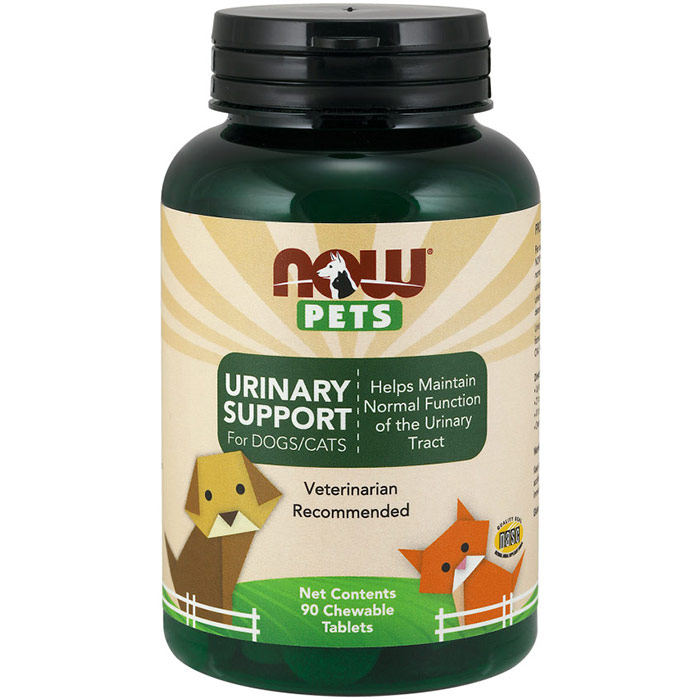 Urinary Support, For Cats & Dogs, 90 Chewable Tablets, NOW Foods