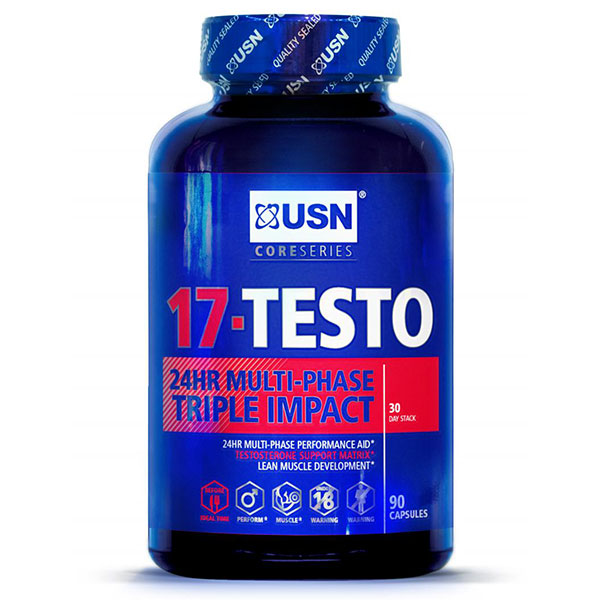 USN 17-Testo, Testosterone Support Matrix, 90 Capsules