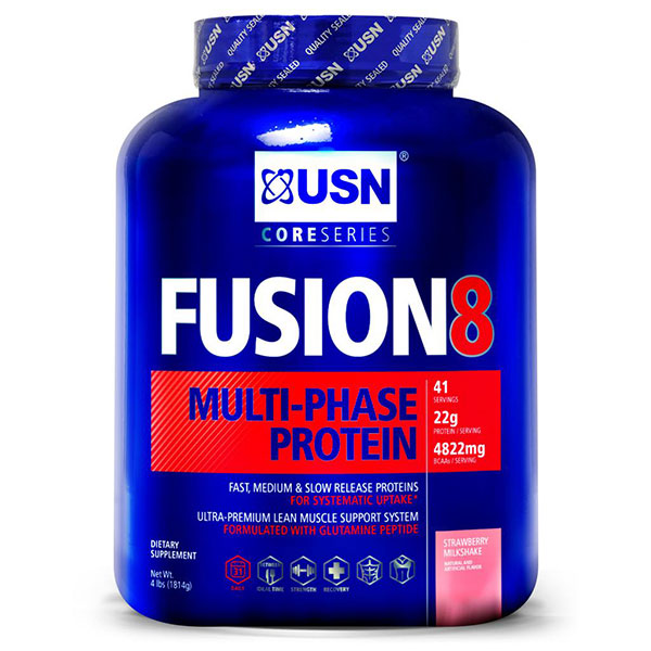USN Fusion8, Multi-Phase Protein Powder, 4 lb