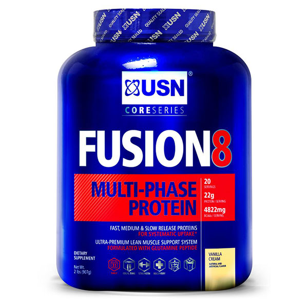 USN Fusion8, Multi-Phase Protein Powder, 2 lb