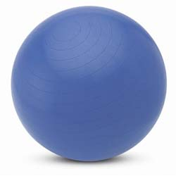 Image of Valeo Fitness Gear Body Ball 65 Centimeters, Blue Exercise Ball