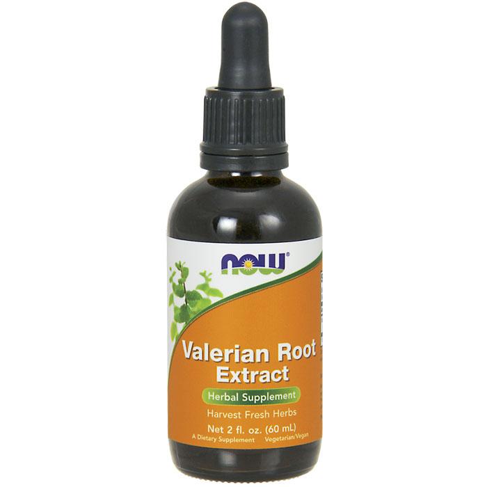 Valerian Root Extract Liquid, 2 oz, NOW Foods