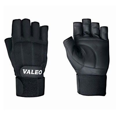 Valeo Performance Lifting Gloves with Wrist Wrap