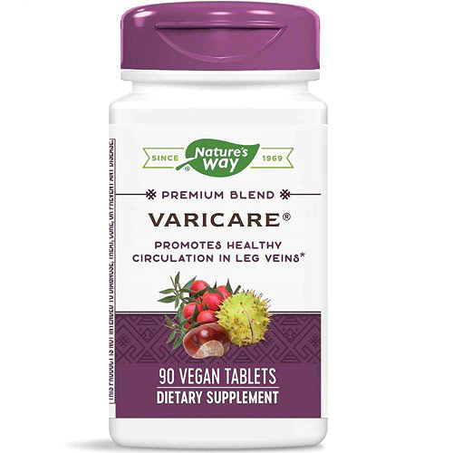 VariCare Vein Health Formula, 90 Tablets, Enzymatic Therapy