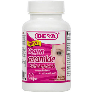 Vegan Ceramide Skin Support, 60 Tablets, Deva Vegetarian Nutrition