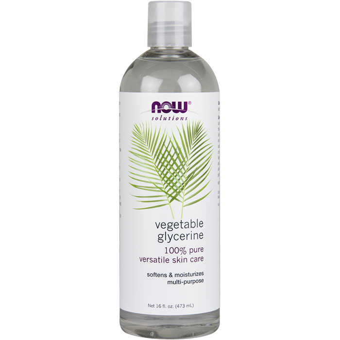 Vegetable Glycerine Edible 16 oz, NOW Foods