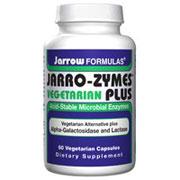 Vegetarian Jarro-Zymes Plus, 60 Capsules, Jarrow Formulas