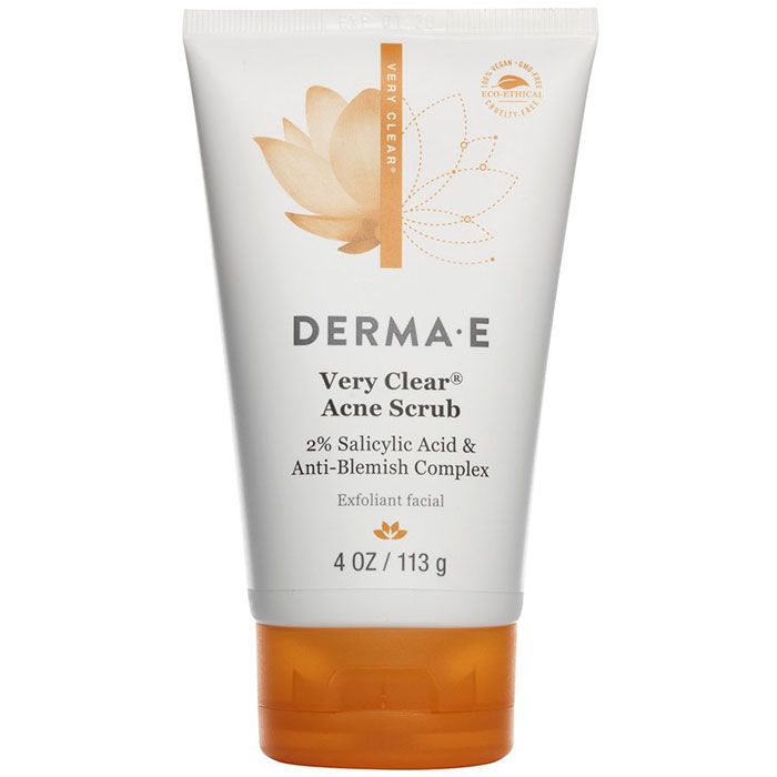 Very Clear Cleansing Scrub, 4 oz, Derma-E Skin Care