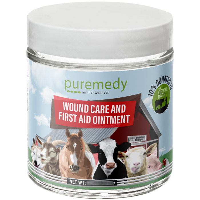 Veterinary Wound Care Salve, 1 oz, Puremedy