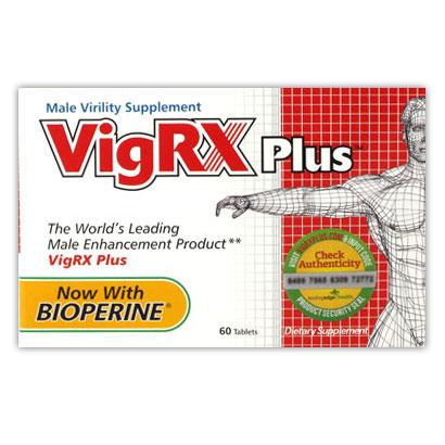 VigRX Plus Male Formula, 1 Month Supply, Albion Medical