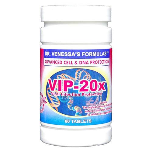VIP 20x, 60 Tablets, Dr. Venessa's Formulas