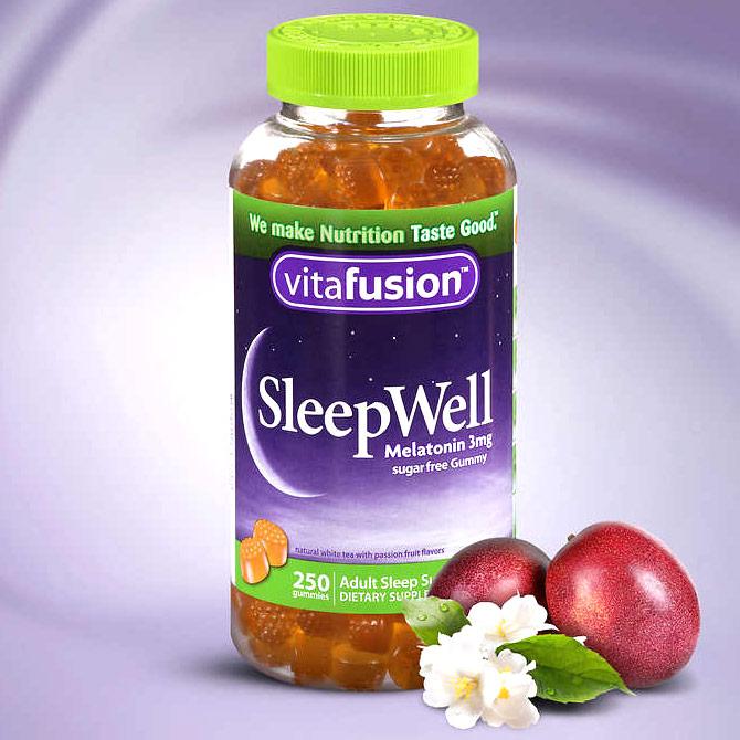 VitaFusion SleepWell, Gummy Sleep Support, 250 Gummies