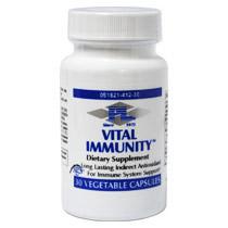 Vital Immunity (Immune Support with Broccoli Extract), 30 Vegetable Capsules, Progressive Laboratories