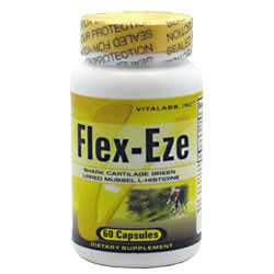 Vitalabs Flex-Eze, Joint Health, 60 capsules