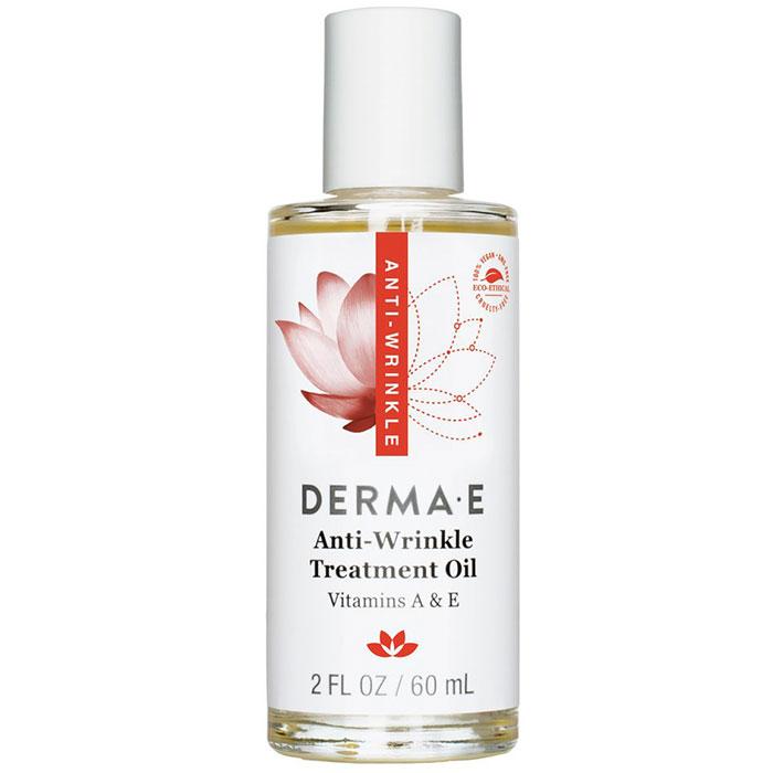 Derma-E Anti-Wrinkle Vitamin A & E Treatment Oil (For Youthful Skin), 2 oz, Derma E