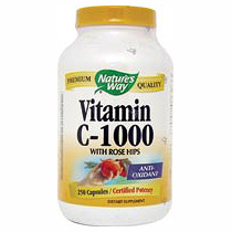 Vitamin C 1000 with Rose Hips 250 caps from Natures Way