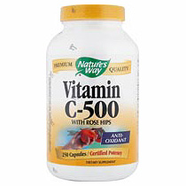 Vitamin C 500 with Rose Hips 250 caps from Natures Way
