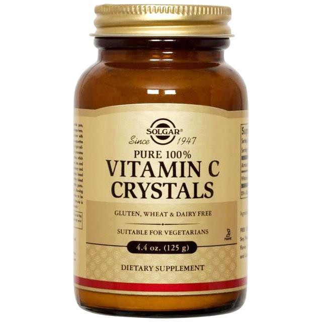 Vitamin C Crystals, 4.4 oz, Solgar