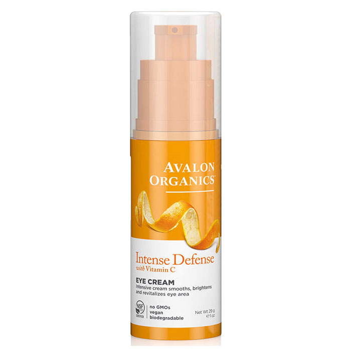 Vitamin C Revitalizing Eye Cream 1 oz, Avalon Organics