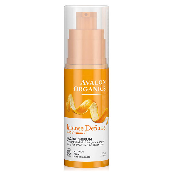 Vitamin C Vitality Facial Serum 1 oz, Avalon Organics