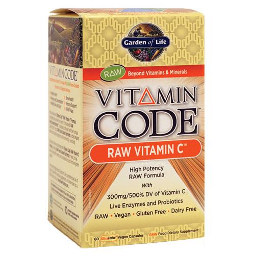 Vitamin Code, Raw Vitamin C, 60 Veggie Caps, Garden of Life