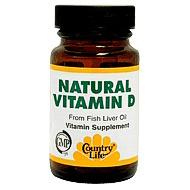 Vitamin D 400 Units 100 Softgel, Country Life