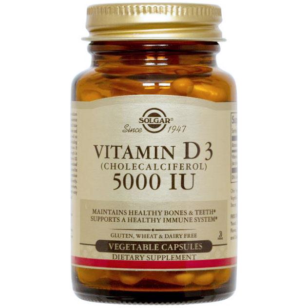 Vitamin D3 5000IU, 360 Softgels, Healthy Origins
