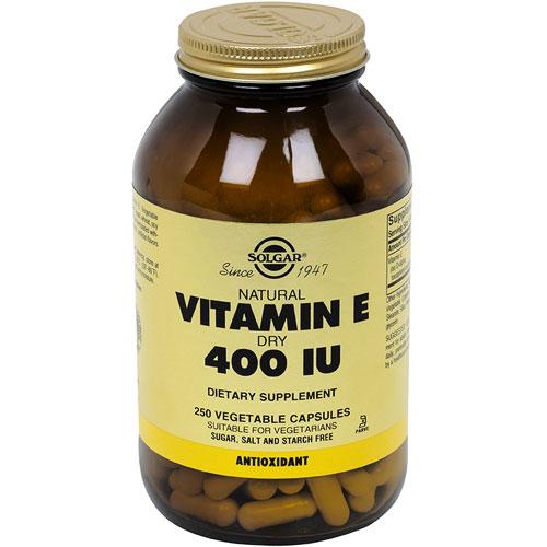400 iu of vitamin e