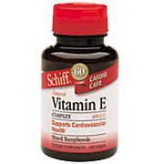 Vitamin E Complex 400 IU 250 softgels from Schiff