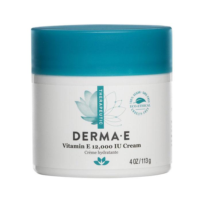 Derma E Vitamin E Cream 12,000 IU, 4 oz