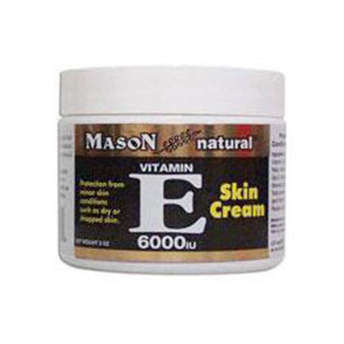 Vitamin E Skin Cream 6000 IU, 2 oz , Mason Natural