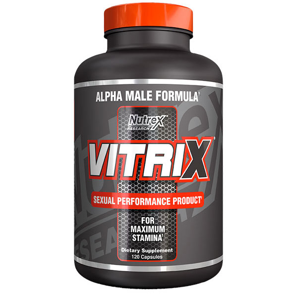 Vitrix Natural Testosterone Stimulator with NTS-5, 180 liqui-caps, Nutrex Research