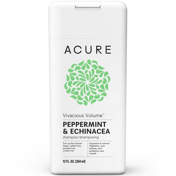 Acure Vivacious Volume Shampoo, Peppermint & Echinacea, 12 oz