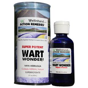 Wart Wonder Super Potent, 2 oz, Wellinhand Action Remedies