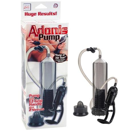 Waterproof Turbo Stroker, One Hand Activation Vibrating Pump, California Exotic Novelties