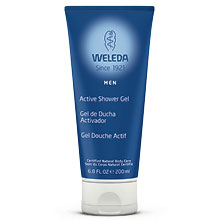 Weleda Men Active Shower Gel, 6.8 oz