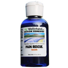 Pain Rescue Warm, 2 oz, Wellinhand Action Remedies