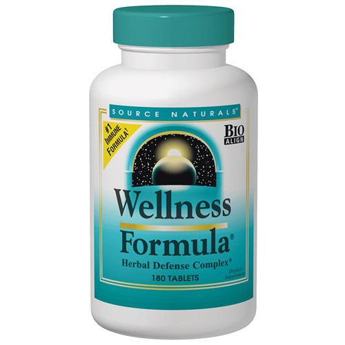 Wellness Formula Caps, Value Size, 240 Capsules, Source Naturals