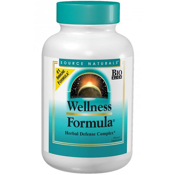 Wellness Formula, Herbal Defense Complex, 90 Tablets, Source Naturals